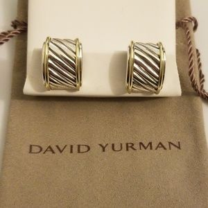David Yurman Classic Cigar Band Earrings